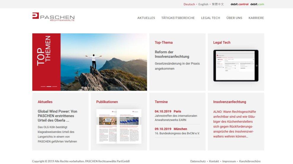 Website-Relaunch: paschen.cc in neuem Gewand