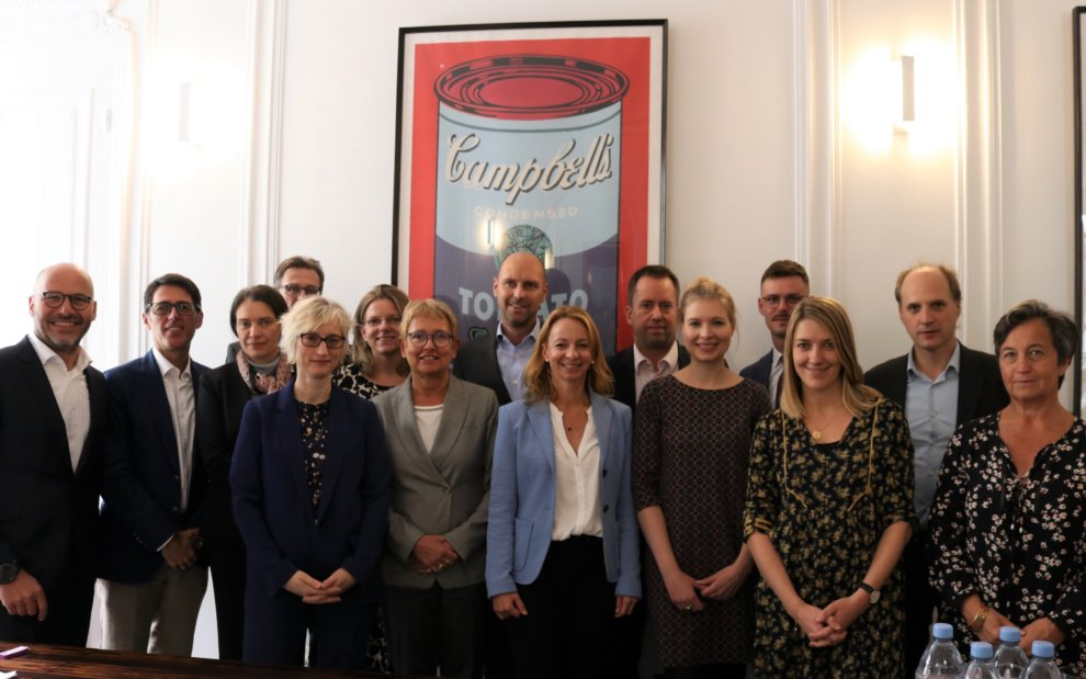 Treffen der EARN-Partner in Paris